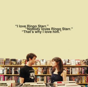 Ringo Starr Quote from (500) Days of Summer