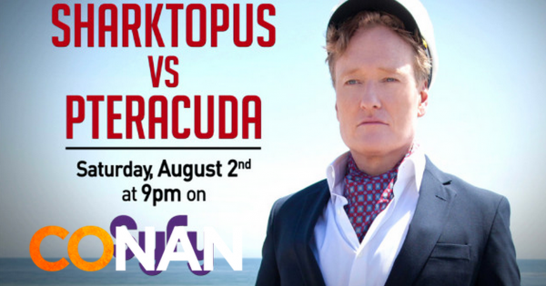 Conan O'Brien Sharktopus vs. Pteracuda