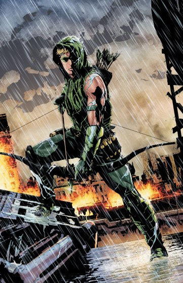 Green Arrow #17 Cover